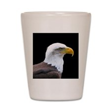 Bald Eagle profile Shot Glass
