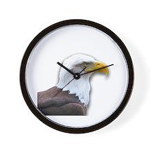 Bald Eagle profile Wall Clock