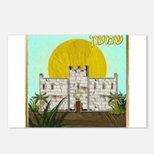 12 Tribes Israel Simeon Postcards (Package of 8)