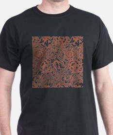 William Morris Pink and Poppy Pattern T-Shirt