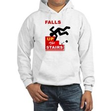 Falls UP The Stairs Hoodie