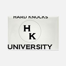 School of Hard Knocks Rectangle Magnet