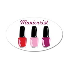 Manicurist Wall Decal
