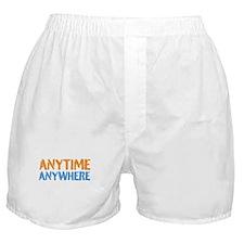 Anytime, Anywhere Boxer Shorts