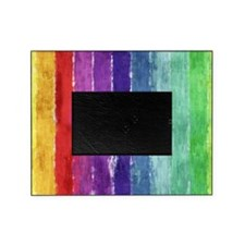 Geometric Stripes Watercolor Picture Frame