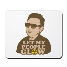 Kim Jong Il: Let my people Glow Mousepad