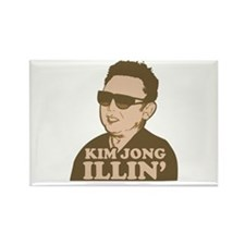 Kim Jong Illin' Rectangle Magnet