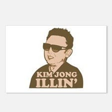 Kim Jong Illin' Postcards (Package of 8)