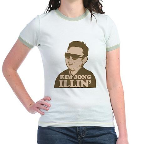 Kim Jong Illin' Jr. Ringer T-Shirt