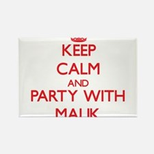 Keep Calm and Party with Malik Magnets