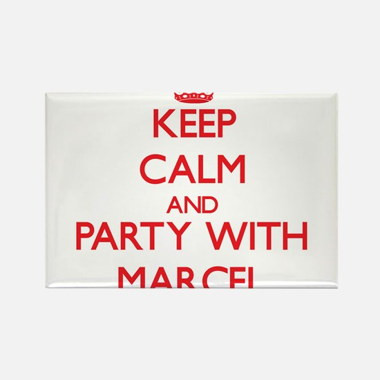 Keep Calm and Party with Marcel Magnets