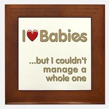 The Baby Catcher's Framed Tile