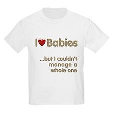 The Baby Catcher's Kids T-Shirt