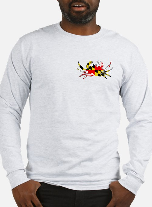 Long Sleeve Crab T-Shirt