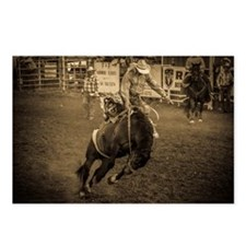Cowboy Rodeo Postcards (Package Of 8)