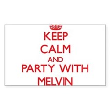 Keep Calm and Party with Melvin Decal