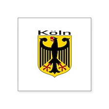 Koln, Deutschland Rectangle Sticker
