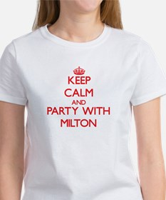 Keep Calm and Party with Milton T-Shirt