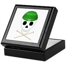 Knit Skull Cap Keepsake Box