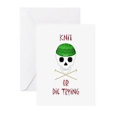 Knit Skull Cap Greeting Cards (Pk of 10)