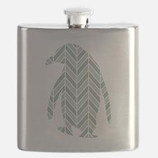 Chevron Penguin Flask