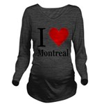 ilovemontreal.png Long Sleeve Maternity T-Shirt
