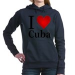 ilovecuba.png Hooded Sweatshirt