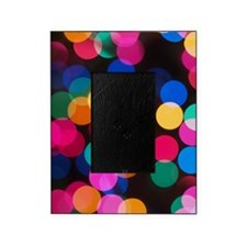 Christmas Tree Lights in Bokeh Picture Frame