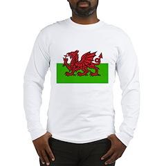 Red Welsh Dragon Long Sleeve T-Shirt