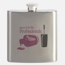 Leave it to the Professionals Flask