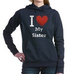 i-love-my-sister.png Hooded Sweatshirt