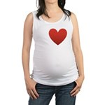 i-love-chocolate.png Maternity Tank Top