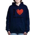 i-love-san-diego.png Hooded Sweatshirt