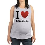 i-love-san-diego.png Maternity Tank Top