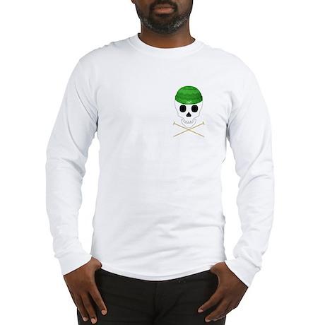 Knit Skull Cap Long Sleeve T-Shirt