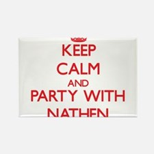 Keep Calm and Party with Nathen Magnets