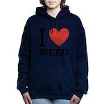 i-love-weed.png Hooded Sweatshirt