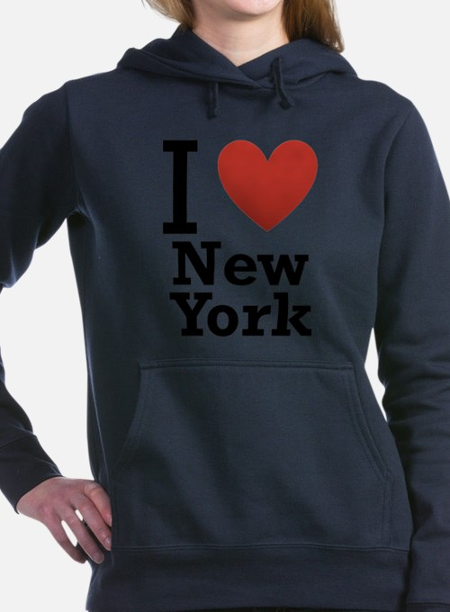 i-love-new-york.png Hooded Sweatshirt