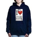 sea isle city rectangle.png Hooded Sweatshirt