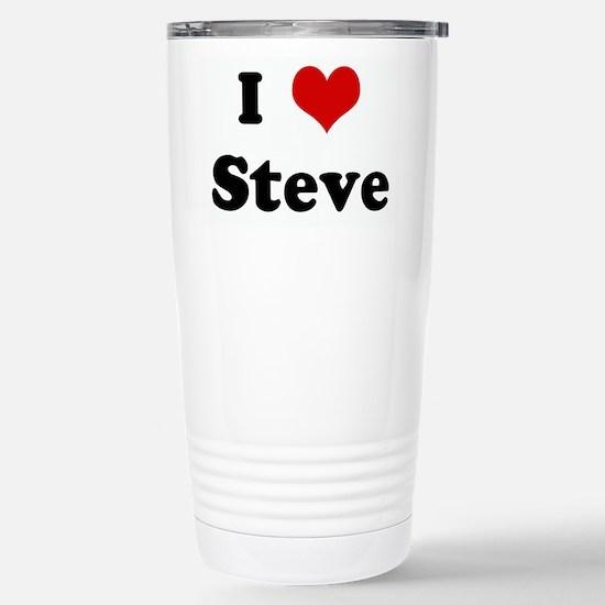I Love Steve Mugs