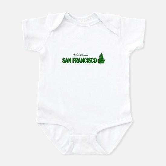 Visit Scenic San Francisco, C Infant Bodysuit