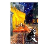 Cafe & Boston Terrie Postcards (Package of 8)