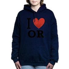 I-Love-Oregon.png Hooded Sweatshirt