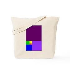fibonacci roygbiv Tote Bag