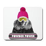 Lion Winter Sports Mousepad
