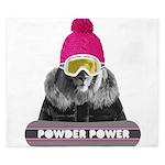 Lion Winter Sports King Duvet