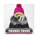 Lion Winter Sports Queen Duvet