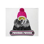 Lion Winter Sports Throw Blanket