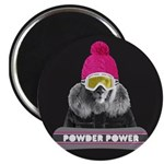 Lion Winter Sports Magnets