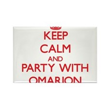 Keep Calm and Party with Omarion Magnets